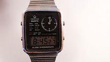 CERTINA alarm chronograph vintage watch quartz very rare