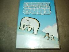 """COFFRET COLLECTOR DVD + CD """"L'ENFANT QUI VOULAIT ETRE UN OURS"""" dessin anime"""