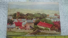A Stewart & Woolf Postcard 5000 Series ~ Painting of Castleton in Derbyshire