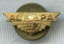 Late 1940's Lapel Pin for Air Lines Pilot Association (ALPA)