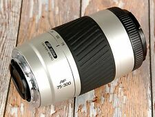SONY Alpha Digital fit Minolta AF 75 - 300mm Silver Telephoto zoom FREE Filter
