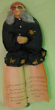Rare Antique Early 1900s Gypsy Witch Fortune Telling Doll 10 Inches Tall