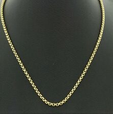 David Yurman Box Chain Necklace in 18K Gold, 2.5mm , 20.75''