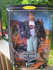 """Mattel, ,""""KEN"""" Harley Davidson Motor Cycles - Barbie Collectables  New In Box"""