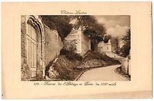 CPA 77 - CHATEAU LANDON (Seine et Marne) - 215. Ruines de l'Abbaye et Porte