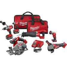 Milwaukee Tools 2896-26 New Generation of 2796-26 M18 FUEL™ 6-Tool Combo Kit NEW
