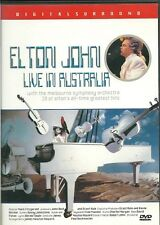 ELTON JOHN  LIVE IN AUSTRALIA  NEW  DVD