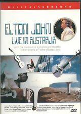 ELTON JOHN  LIVE IN AUSTRALIA  NEW  DVD