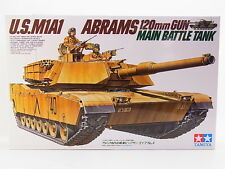 LOT 17849 | Tamiya 35156 M1A1 ABRAMS 120mm Gun Battle Tank 1:35 Bausatz NEU OVP