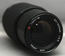 Pentax K Tokina 80-200mm f/4.5 ZOOM MACRO Lens Japan
