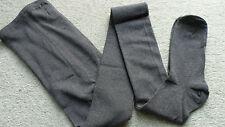 Damenstrumpfhose Strumpfhose Strickstrumpfhose Grau 97%Baumwolle Gr.50-52 NEU