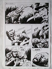 A L'ARME BLANCHE  SPECTACULAIRE PLANCHE GEANTE ELVIFRANCE  PAGE 15