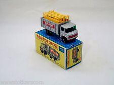 Matchbox Lesney # 11 Scaffolding truck Mercedes  neuf/boîte (#MBB)