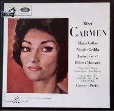 HMV ANGEL SAN 140 - 142 ED 1 AUS PRESS CALLAS BIZET CARMEN GEDDA GUIOT PRETRE