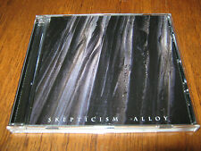"SKEPTICISM ""Alloy"" CD esoteric thergothon"