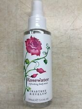 Crabtree and Evelyn Rosewater Refreshing Body Mist 3.4 oz.