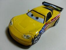 Mattel Disney Pixar Car 2 Jeff Gorvette USA Diecast Toy Car 1:55 Loose In Stock