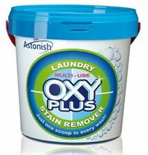 Astonish Multi-Use Oxy Plus Laundry Stain Remover 1kg - Up to 37 Wash Loads
