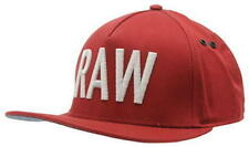 G-Star Raw vontry Snap Snapback da Uomo Red RRP £ 35