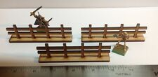 MDF Fences Pack Laser Cut RPG Terrain Wargames Crafts FAST SHIPPING US SELLER