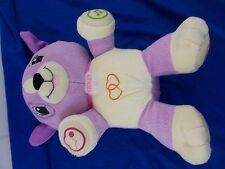 Leapfrog My Pal Violet Programmable Plush Dog Animal Toy Purple Personalize