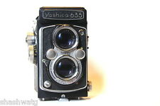 SALE SALE N R LEGENDARY YASHICA 635 +LEATHER CASE MOST SOUGHT AFTER JAPANESE TLR