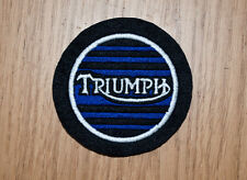 Clásico Triumph Motorcycle Parche Bordado