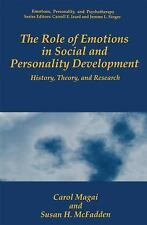 The Role of Emotions in Social and Personality Development: History, T-ExLibrary