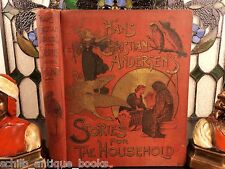 1893 Fairy Tales of Danish Hans Christian Andersen Children's Snow Queen FROZEN