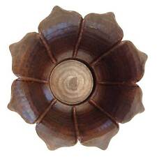 Copper Lotus Bowl and Candleholder - Handmade in Nepal - Fair Trade