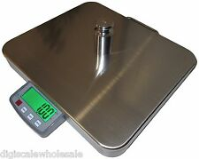 """Large Shipping Scale 400lb x 0.1lb Tree CSS-400 16""""x 14"""" Stainless Platform"""