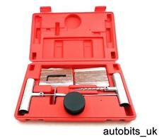 Car Motorcycle Tubeless Tyre Puncture Repair Kit Tool Tire Plug Auto Strip Wheel