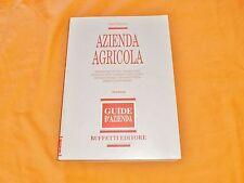 sergio mogorovich azienda agricola guide d'azienda buffetti editore 1991
