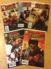 Marvel Zombies Vs Army Of Darkness # 1 2 3 4 5 1-5 (2007)