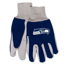 Seattle Seahawks Two Tone Youth Size Gloves [NEW] NFL Work Child Kid Scarf Hat