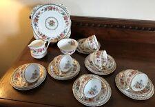 Vintage Royal Grafton 'Malvern' tea set for 6 - 21 pieces