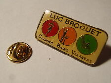 PIN'S Luc Broquet