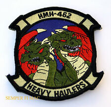 AUTHENTIC HMH-462 HEAVY HAULERS US MARINES PATCH MCAS USS CH-53 E MAG-16 3D MAW