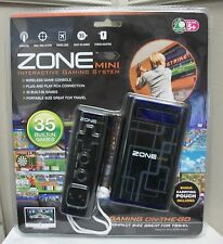 NEW ZONE MINI INTERACTIVE GAMING SYSTEM 35 BUILT-IN GAMES WIRELESS TRAVEL