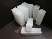 (10) CoinSafe Brand Square Coin Storage Tubes for Pennies