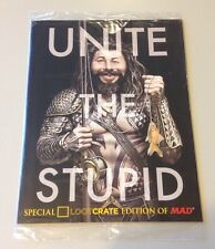 MAD MAGAZINE Special Loot Crate Edition SEALED May 2015 UNITE THE STUPID 9.4+