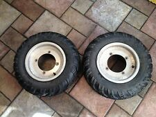 2003 POLARIS PREDATOR 500 FRONT WHEELS & TIRES