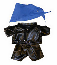 """Biker Outfit 16""""(40cm) by Teddy Mountain will fit Build a Bear"""