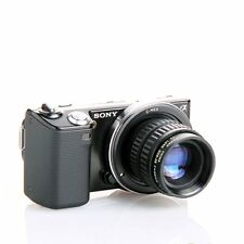 Fujian 35mm F1.7 CCTV TV Movie lens+C Mount to Sony Nex-5T N-3 N6 N7 A6000 C-NEX