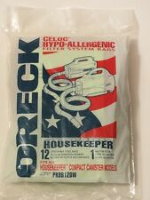 Genuine Oreck Buster B Canister Vacuum Bags PKBB12DW Housekeeper 12 Pack