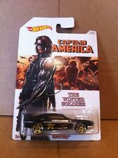 HOT WHEELS DIECAST - Captain America Series - Rivited - The Winter Soldier - 5/8