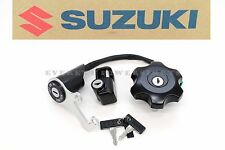 New Key Ignition Switch Lock Cap Set 2005-2016 DRZ400 SM Genuine Suzuki OEM #W66