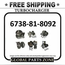 NEW TURBO for KOMATSU 6738-81-8092 PC200-7; PC200LC-7 FREE DELIVERY
