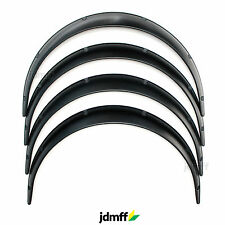 Universal JDM Fender Flares over wide body wheel arches ABS 70mm 4pcs