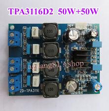 TPA3116D2 Digital 2.0CH Class D 50W+50W Audio Power Amplifier Board 50W*2